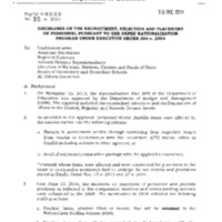 DepEd Order 50, s. 2014: Guidelines on the Recruitment and Placement of Personnel Pursuant to the DepEd Rationalization Program under Executive Order 366, s. 2004 (Qualification Standards for DepEd-Unique Positions Included)